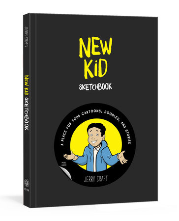 New Kid Sketchbook by Jerry Craft