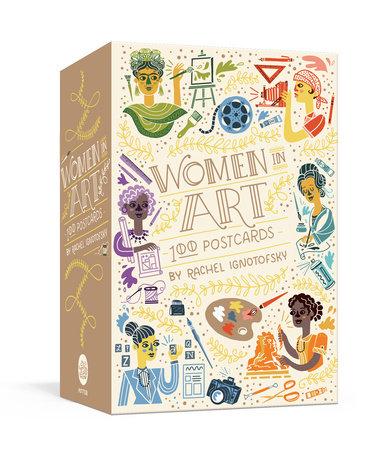 Women in Art: 100 Postcards by Rachel Ignotofsky