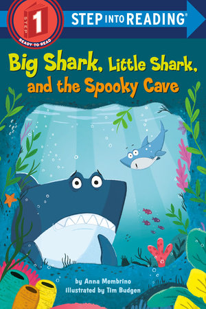 Big Shark, Little Shark, and the Spooky Cave