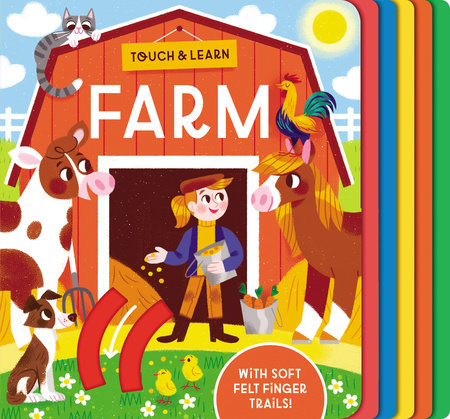 Touch & Learn: Farm by Becky Davies