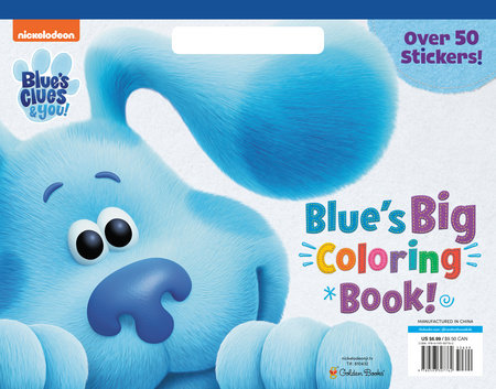 Blue's Big Coloring Book (Blue's Clues & You) by Golden Books