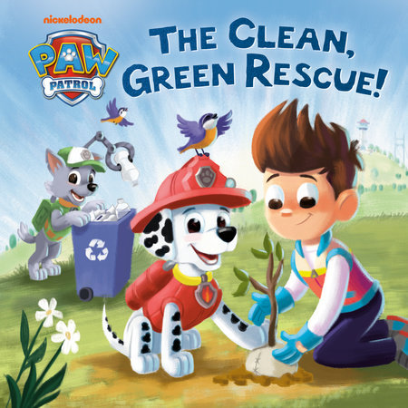 The Clean, Green Rescue! (PAW Patrol) by Random House