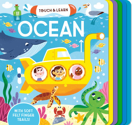Touch & Learn: Ocean by Becky Davies; illustrated by Mei Stoyva