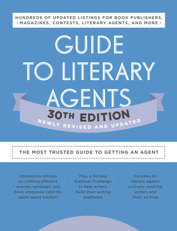 Guide to Literary Agents 30th Edition by