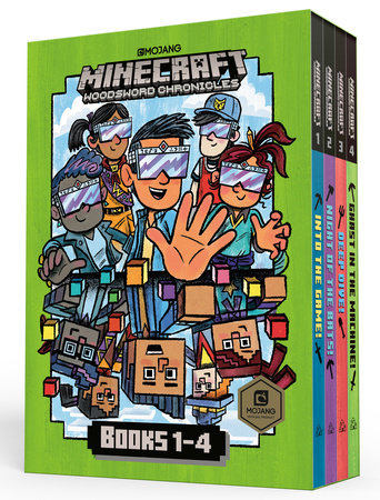 Minecraft Woodsword Chronicles Box Set Books 1-4 (Minecraft) by Nick  Eliopulos