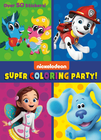 Super Coloring Party! (Nickelodeon) by Golden Books