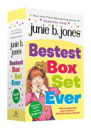 Junie B. Jones Bestest Box Set Ever (Books 1-10) by Barbara Park
