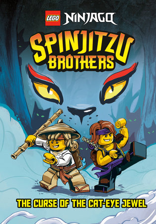 Spinjitzu Brothers #1: The Curse of the Cat-Eye Jewel (LEGO Ninjago) by Tracey West