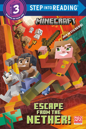 Escape from the Nether! (Minecraft) by Nick  Eliopulos