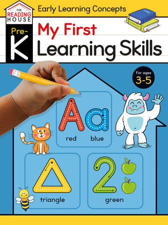 My First Learning Skills (Pre-K Early Learning Concepts Workbook) by Marla Conn and The Reading House