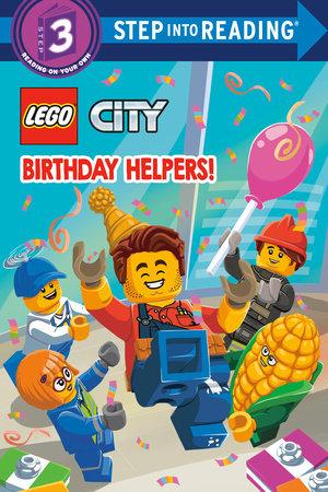 Birthday Helpers! (LEGO City) by Steve Foxe