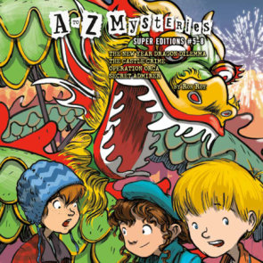 A to Z Mysteries Super Editions #5-8