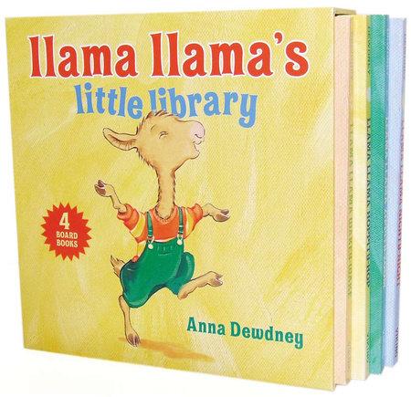 Llama Llama's Little Library by Anna Dewdney