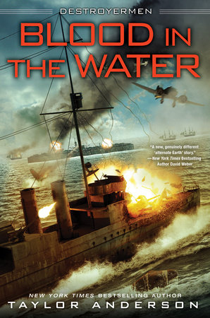Blood In the Water by Taylor Anderson