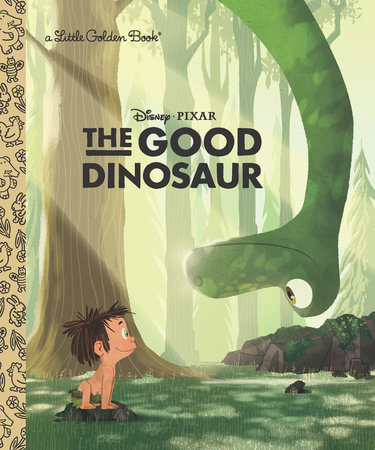 The Good Dinosaur Little Golden Book (Disney/Pixar The Good Dinosaur) by Bill Scollon