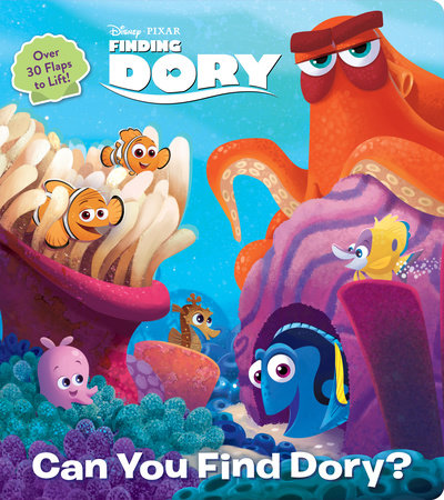 Can You Find Dory? (Disney/Pixar Finding Dory) by RH Disney