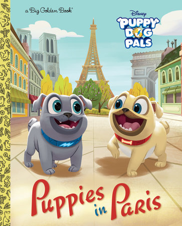 Puppies in Paris (Disney Junior: Puppy Dog Pals) by Michael Olson