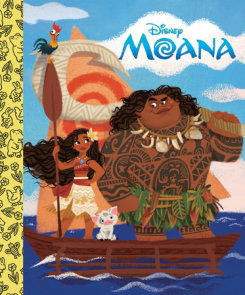 Moana Little Golden Board Book (Disney Princess)