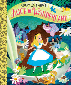 Walt Disney's Alice in Wonderland Little Golden Board Book (Disney Classic)