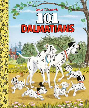 Walt Disney's 101 Dalmatians Little Golden Board Book (Disney 101 Dalmatians) by Golden Books