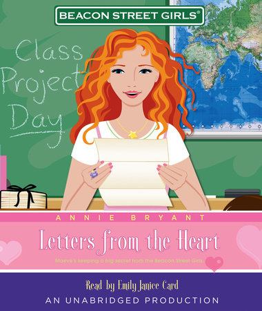 Beacon Street Girls #3: Letters From the Heart by Annie Bryant