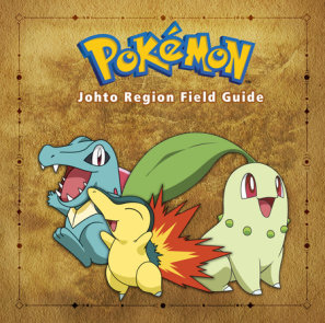 Pokémon Johto Region Field Guide