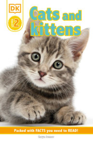 DK Reader Level 2: Cats and Kittens  (Library Edition)