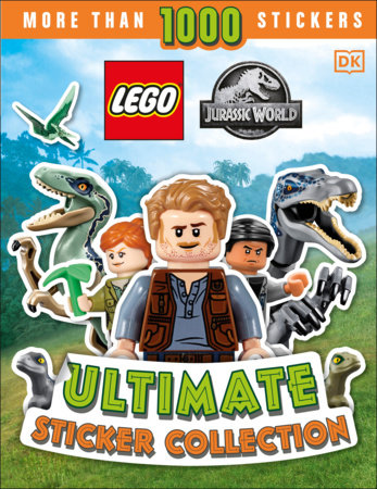 LEGO Jurassic World Ultimate Sticker Collection by Julia March