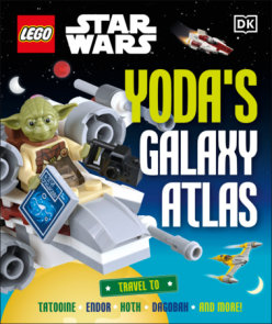 LEGO Star Wars Yoda's Galaxy Atlas  (Library Edition)