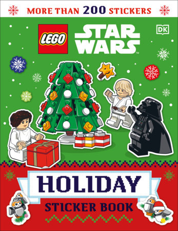 LEGO Star Wars Holiday Sticker Book by Tori Kosara