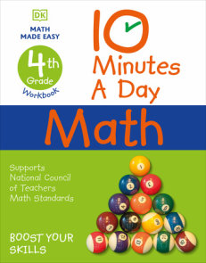 10 Minutes a Day Math, 4th Grade