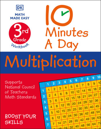 10 Minutes A Day Multiplication, 3rd Grade by Carol Vorderman