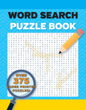 Word Search Puzzles Large Print Volume 1 2nd Edition by DK