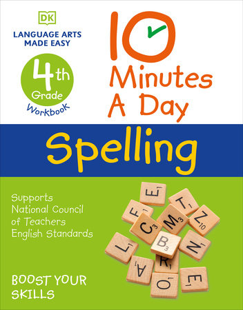 10 Minutes a Day Spelling, 4th Grade by Carol Vorderman