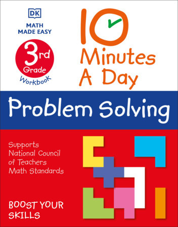 10 Minute a Day Problem Solving, 3rd Grade by DK