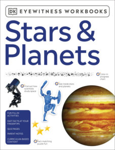 Eyewitness Workbooks Stars & Planets