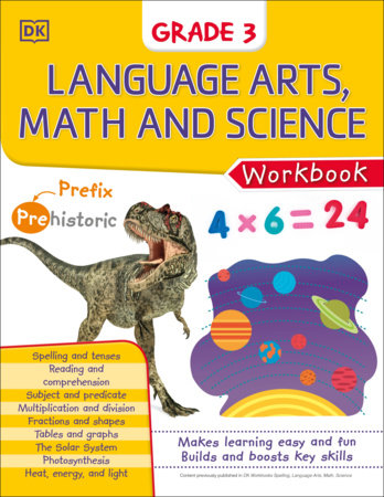 DK Workbooks: Language Arts Math and Science Grade 3 by DK