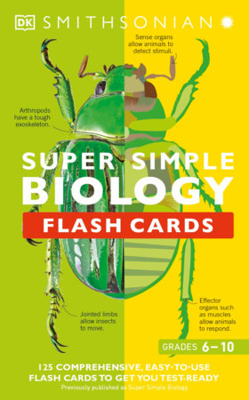 Super Simple Flashcards Biology by DK