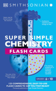 Super Simple Flashcards Chemistry