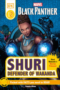 Marvel Black Panther Shuri Defender of Wakanda Reader Level 2