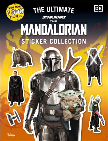 Star Wars The Mandalorian Ultimate Sticker Collection by DK