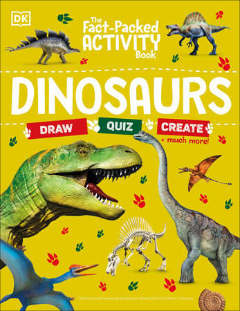 The Fact-Packed Activity Book: Dinosaurs by DK