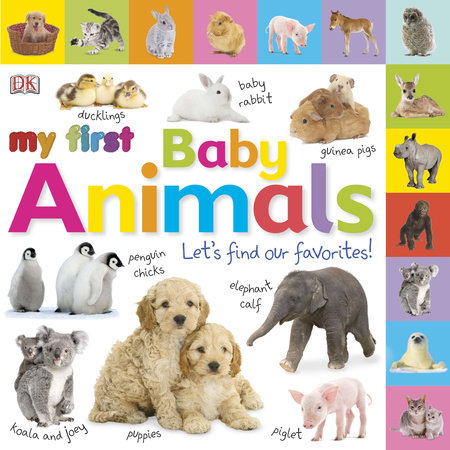 Tabbed Board Books: My First Baby Animals by DK