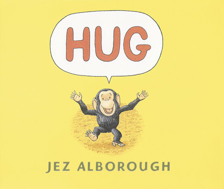 Hug Lap-Size Board Book by Jez Alborough