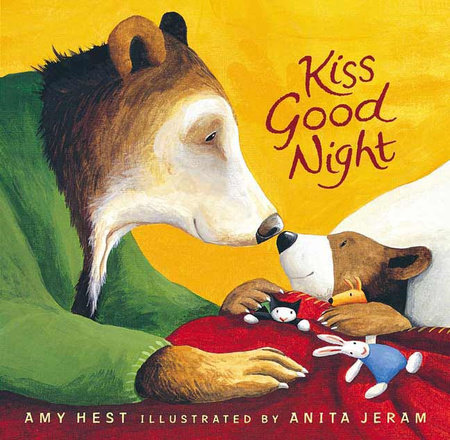 Kiss Good Night Lap-Size Board Book by Amy Hest