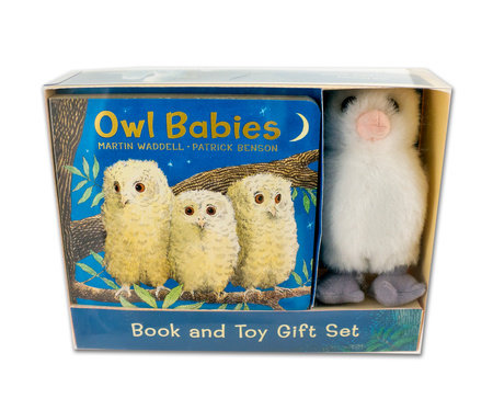 Owl Babies Book and Toy Gift Set by Martin Waddell