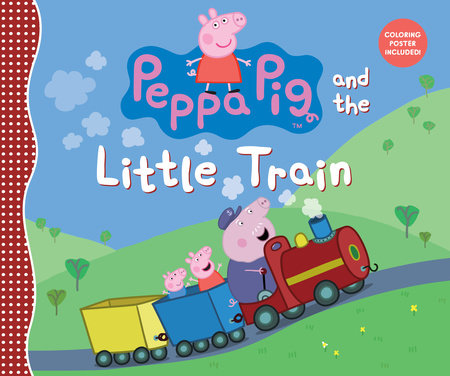 Peppa Pig and the Little Train