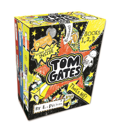 Tom Gates That's Me! (Books One, Two, Three) by L. Pichon