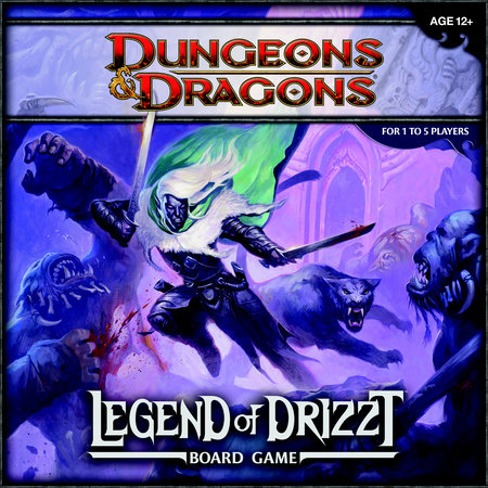 Legend of Drizzt Board Game by