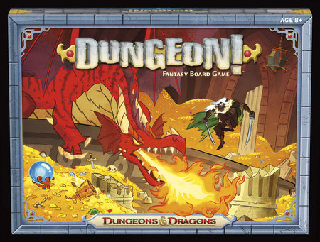 Dungeon! Board Game by